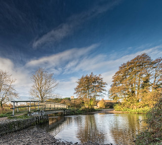 The Ford Over The River Glaven at Glandford