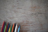 Aligned (Rushay) Tags: assortment color colors pencil portelizabeth southafrica woodentexture writing
