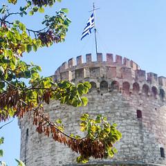 Der Weiße Turm (PWeigand) Tags: chalkidiki thessaloniki weiserturm θεσσαλονίκη decentralizedadministrationof griechenland decentralizedadministrationofmacedoniaandthrace