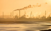 Stanlow dawn 04 jan 18 (Shaun the grime lover) Tags: mersey industrial river sunrise winter stanlow cheshire refinery dawn eastham chimneys distillation columns cracker