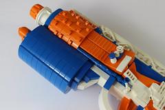 Nerf details 4 (Pistash) Tags: pistash moc bpchallenge brickpirate lego nerf elite toy