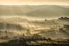 At early morning (Luca-Anconetani) Tags: mist morning panorama luceradente lights lucaanconetani nikon paesaggimarchigiani colline collinemarchigiane collinemaceratesi nature foschia hills travel italia landscaspes panoramimarchigiani panoramas country campagnamarchigiana