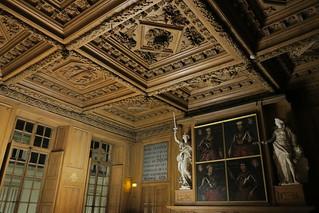 Dijon-Salle de lecture des archives départementales