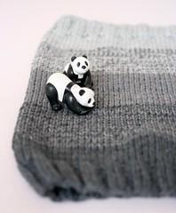 November Cowl (capovak) Tags: merino wool drops cowl accessory knitting fade grey