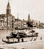 Venise vers 1890. (caramoul25) Tags: venise venezia venice gondole palais caramoul25