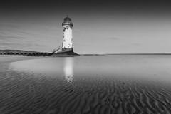 Talacre Lighthouse (John__Hull) Tags: talacre lighthouse point ayr wales sand ripples nikon d3200 sigma 1020mm coastline uk
