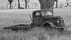 Old Truck (Jeff_Warner) Tags: oly40150pro olyem1mkii farm wreck