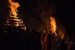Cajun yuletide (Mr. Greenjeans) Tags: nottawayplantation bonfire bonfiresonthelevee night christmas yuletide tradition louisiana cajun