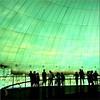 green green glass of dome (Bernergieu) Tags: 7dwf crazytuesdaytheme greenblack spain valencia oceanografic people