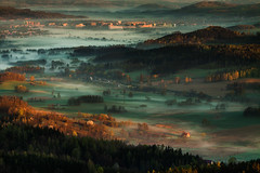 Untitled (Bonnie And Clyde Creative Images) Tags: landscapes canon europe poland mist mountains