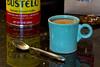 Coffee Time (brucetopher) Tags: coffee breakfast misseddeadline drink winter seasonal holiday cafe bustelo cookie cream creamer cookies hotdrink