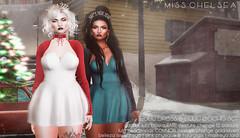 .miss chelsea. lulu dress & lulu party gacha set - soon @ N21 (Coral Lacey / Miss Chelsea) Tags: sl secondlife mesh fashion womens new n21 gacha christmas nye party misschelsea