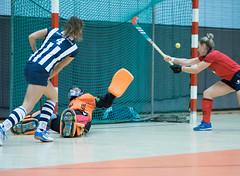 4C170047 (roel.ubels) Tags: hockey zaalhockey indoor sport topsport sporthallen zuid amsterdam 2017 hoofdklasse