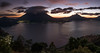 Atitlan Lake (neritron) Tags: pãºrpura lake atitlan landscape mirador mario mendez montenegro color colorful colourful image images volcan vulcan volcano vulcanos volcanoe volcanoes water sunset nikon sigma 24mm art f14
