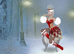 Mistress of Snow - Inspiration Event (Rhaenys Targaryen) Tags: inspirationevent irisistible lunabodyart powderpack ali arte alaskametro amarabeauty theface bigbeautifuldoll catwa maitreya semiprecious argrace nantra secondlife christmas holiday burlesque