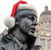 Macca Christmas (alancookson) Tags: fujixt1201217 paulmccartney beatles statue pierhead liverpool christmas condensation