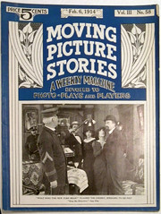Feb. 6 1914 Moving Picture Stories (universalstonecutter) Tags: universalstudios movingpicturestories imp kingofthedetectives