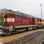 742 285-0 + 742 239-7 ČD Cargo Mladá Boleslav CZ 28.10.17 thumbnail