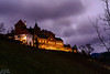 Eberstein Schloss (Brian Out and About) Tags: castles eberstein schloss black forest germany europe bluehour nikon d5200 vineyards long exposure nightshots nighttime