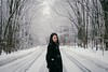 (shoshibata) Tags: people portrait winter snow mist fog aomori japan