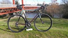 20171223_110653 (AR Cycles) Tags: ar cycles custom columbus gilco road frame sacramento ca bridge fade paint polished stainless steel lugs