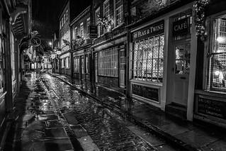 Rainy Night Black n White