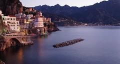 Christmas dawn (eudibi) Tags: atrani amalfi coast sonyalpha camerasony mirrorless dawn sunrise tirreno lattari minori maiori nikkor lens