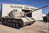 M60A1 Main Battle Tank @ the General Patton Memorial Museum (Greg Nutt) Tags: ca california blue sand canoneos generalpattonmemorialmuseum canon5dmii green generalpatton tanks usa white us army usarmy m60 mbt military treads coldwar topaz topazadjust