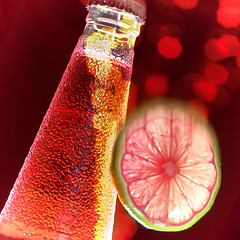 RED (Uniquva) Tags: smileonsaturday redrules bottle lime