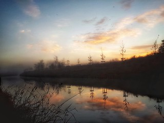 Canal du Midi  Sunrise