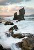 Crashing Waves (Bllparkfrank) Tags: okinawa seascape landscape hdr topaz adjust waves motion japan