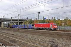 DB/GC 185 324 am 29.10.2016 mit einem leerem Autozug in Hamburg-Harburg (Eisenbahner101) Tags: