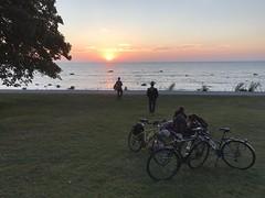 DLG-Gotland 1-5 (greger.ravik) Tags: gotland dlg medeltidsveckan medieval medeltid middle ages visby solnedgång sunset hav