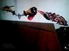 Booh al aire (Danny Boligraffiti) Tags: art arte booh graff graffiti photograpy pictures picture photo pintura aerosol fantasma tag noche night imaginacion