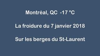 La froidure du 7 janvier 2018