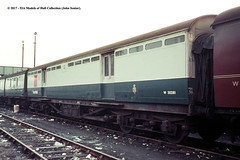 c.1969 - Bristol. (53A Models) Tags: britishrail lms royalmailvan pos m30281 npcs bristol train railway locomotive railroad