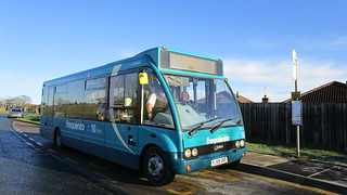 Arriva North East: Optare Solo M880 (YJ59GKF/2861)