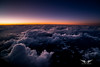 Twilight above a sea of clouds (gc232) Tags: samyang livefromtheflightdeck canon 6d twilight dusk dawn sunset sunrise sun light clouds aerial fly altitude golfcharlie232 pilotsview
