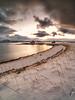 Fisherman cabins (joaquinain) Tags: high resolution omd olympus clouds nubes snow nieve cabin pescador fisherman tromso laowa em12