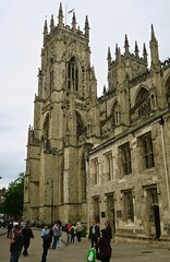 York Minster, York, UK (Robby Virus) Tags: york england uk unitedkingdom britain british greatbritain minster cathedral church christian christianity religion god jesus christ architecture building churchofengland windows tower gothic medieval