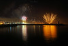 Wish you a wonderful 2018 ! (Pedro d'Anjos) Tags: night new year eve water pier people sea explosion happynewyear reflections newyear ocean long exposure fireworks quarteira algarve portugal photo 2018