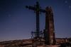 Belchite Viejo 3 (Cristina Ovede) Tags: belchite cielo cruz torre sky estrellas star longexposure largaexposición noche night ruinas