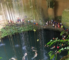 Mexico (Cancun-Cenoma) Underground rivers are breathtaking natural wonders (ustung) Tags: mexico cancun cenoma underground river swimming people water wonder natural view