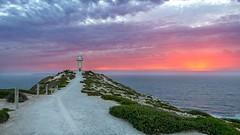 Cape Spencer Lighthouse (Nathan Godwin) Tags: sunset sunsetphotography sunsetporn sunsets sunsetseascape sun hdrsunset australiansunset australia australiansummer aussiesummer southaustralia southaustralianbeaches yorke capespencer cape spencer lighthouse beacon beachscape glow