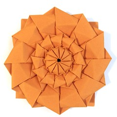 Flower Tower - Chris Palmer (Elool Yanover) Tags: origami flower tower chrispalmer fractal tessellation