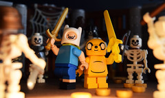 What Time Is It?! (Andrew Cookston) Tags: adventure time jake the dog finn human cartoon network andrew cookston andrewcookston