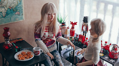 23 (mimiau_m) Tags: bjd bjdstory asian doll christmas noel zaoll luv recast dollroom