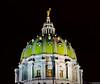 Harrisburg Capitol Dome (charlie_guttendorf) Tags: guttendorf hdr harrisburg nikon nikon18200mm nikond7000 pennsylvania uncoveringpa centralpa dome night nightphotography outdoors