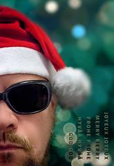 Merry Merry (2017) (pni) Tags: imageediting composite collage photomontage blur focus bokeh light bubble me self selfportrait man christmas xmas cinc greeting helsinki helsingfors finland suomi pekkanikrus skrubu pni
