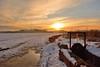 An icy morning (rena@ovest) Tags: alba neve inverno freddo chiuse ghiaccio